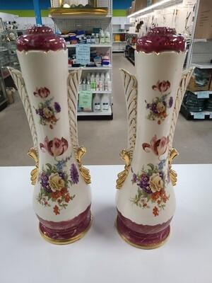 Pair of Porcelain Lamps