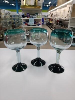 Aqua Drink Glasses