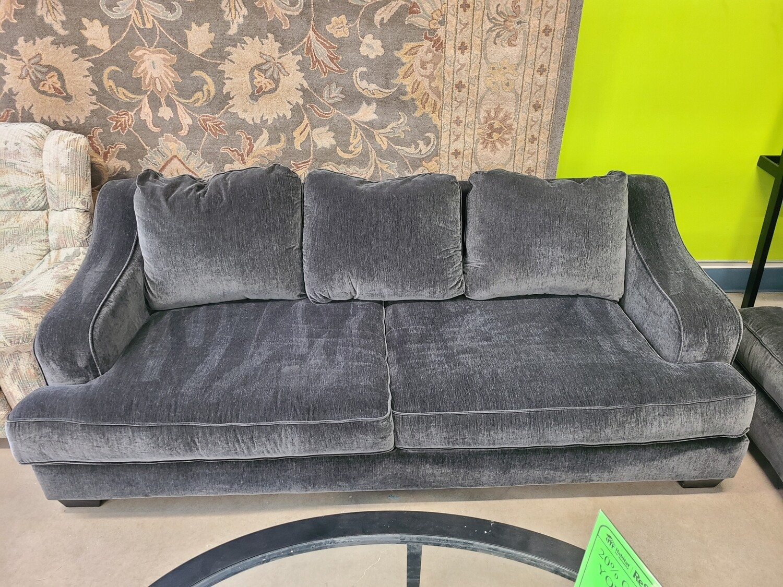 Ashley Furniture Dark Grey Deep Sofa
