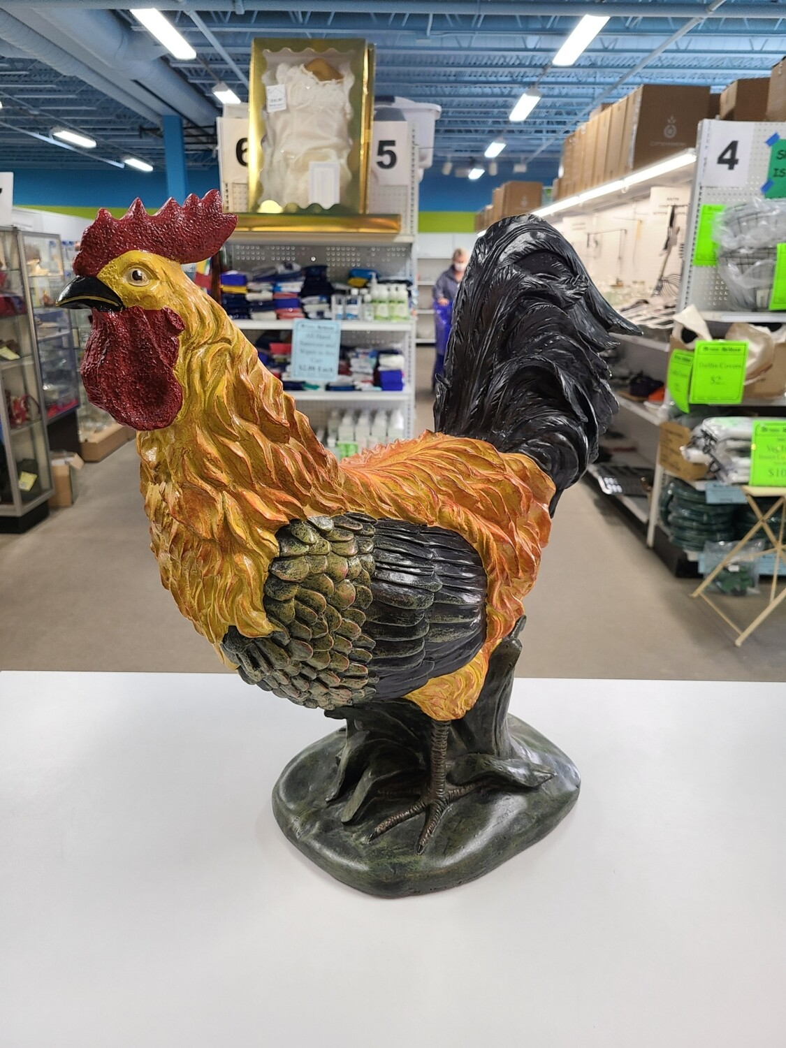 Rooster Statue