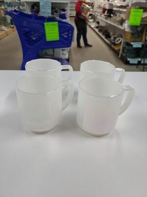 Fostoria Mugs (4)