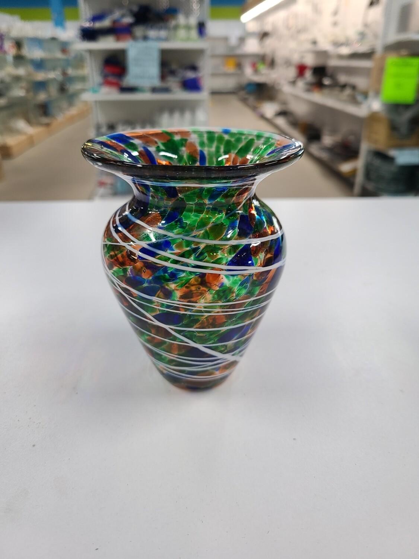 Signed Studio Art Vase