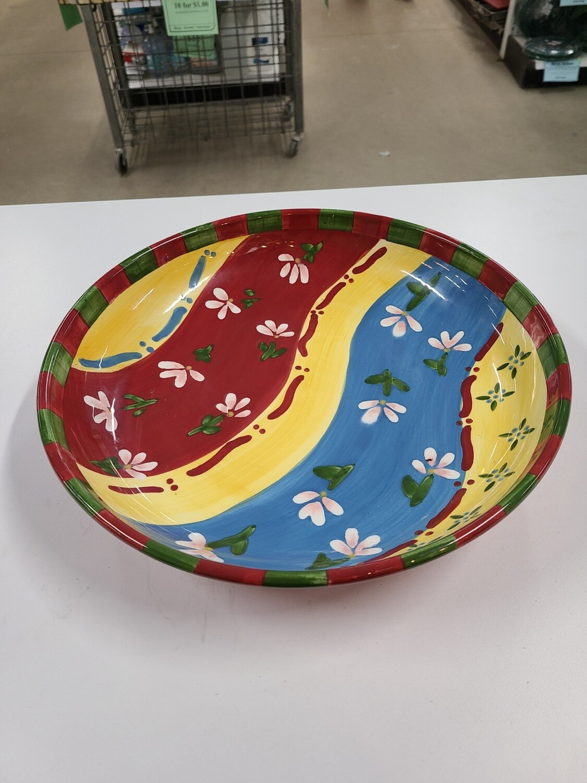 Red Dansk Bowl