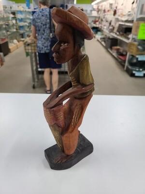 Hand-Carved Figurine