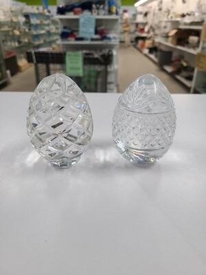 Pair of Glass Eggs