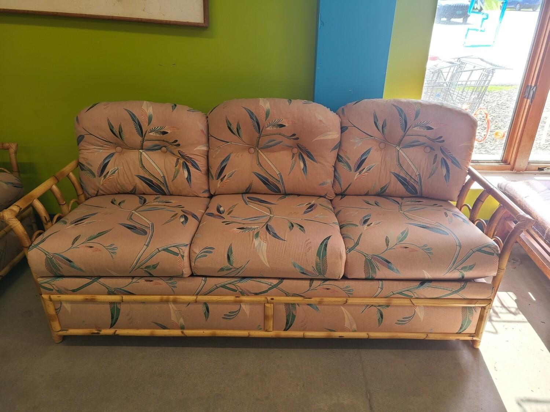 Bamboo Sofa & Loveseat