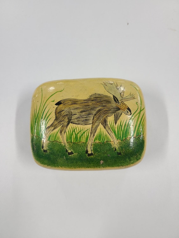 Antique Moose Box