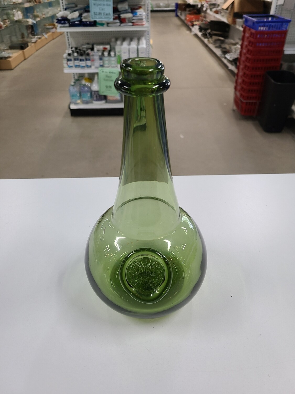 Olive Green Onion Bottle w/ Joseph Frances Seal
