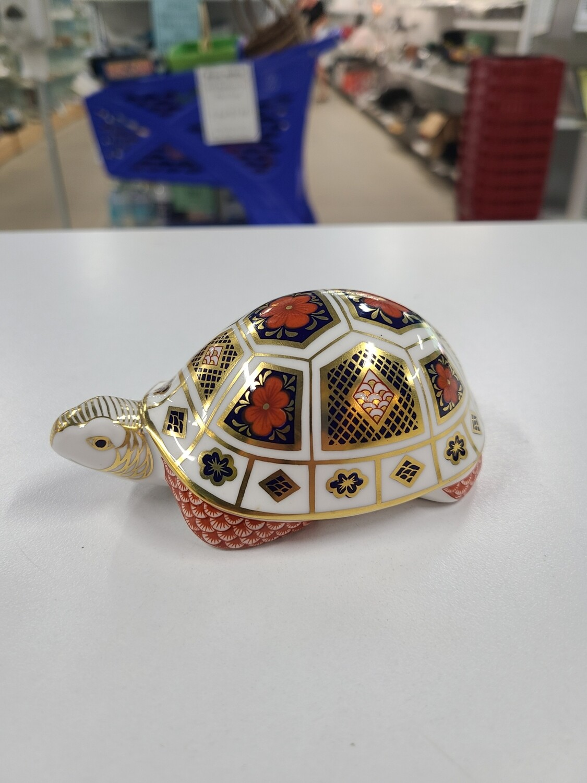 Royal Crown Derby Bone China Turtle