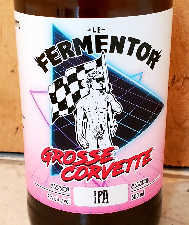 Grosse Corvette (Session IPA, 4%) - Caisse de 12 Bouteilles de 500ml  55.00$
