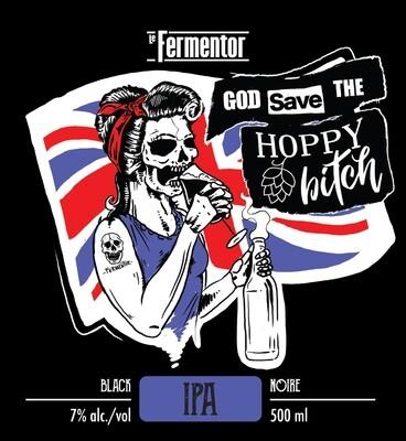 (God Save The) Hoppy Bitch (Black IPA , 7%)