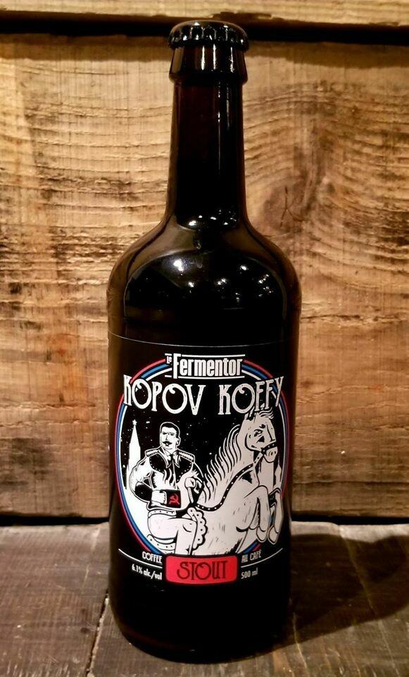 Kopov Koffy (Stout au Café 6.1%)