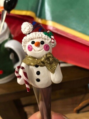 Holiday Snowman Spoon Gift
