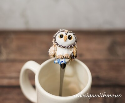 Owl Spoon Holiday