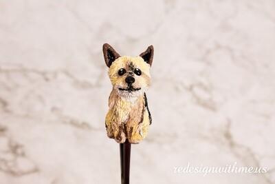 Pet Dog Portrait Spoon