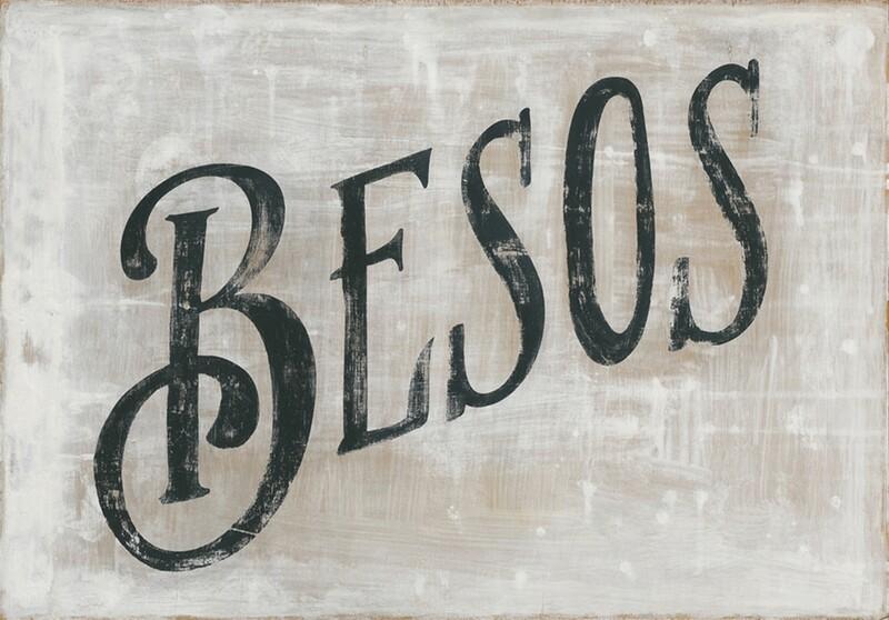 "Art Print - Besos - Gallery Wrap - 36"" x 25"""