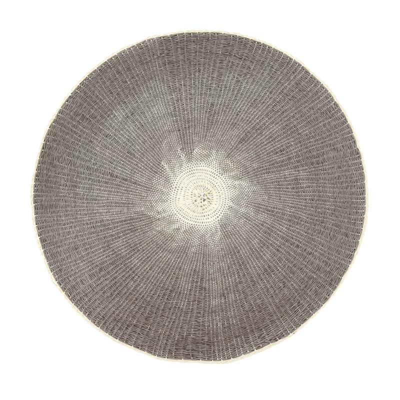 Willa Woven Placemat, Grey 4-9771
