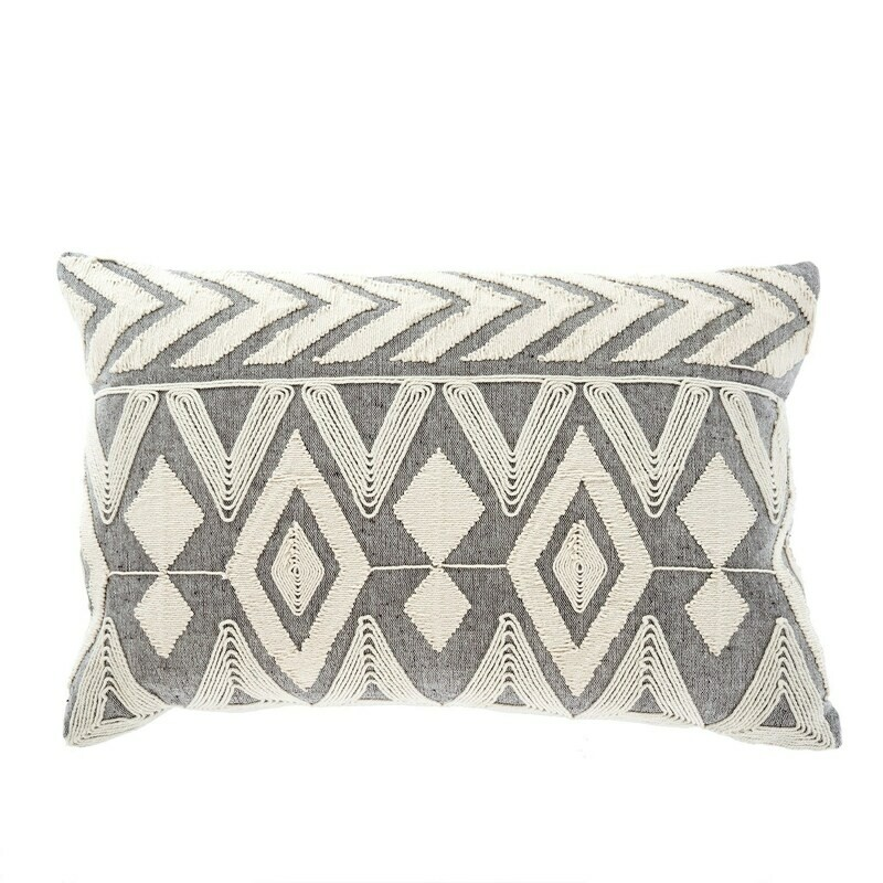 1-7690-C 16x24 Annora Embroidered Cushion