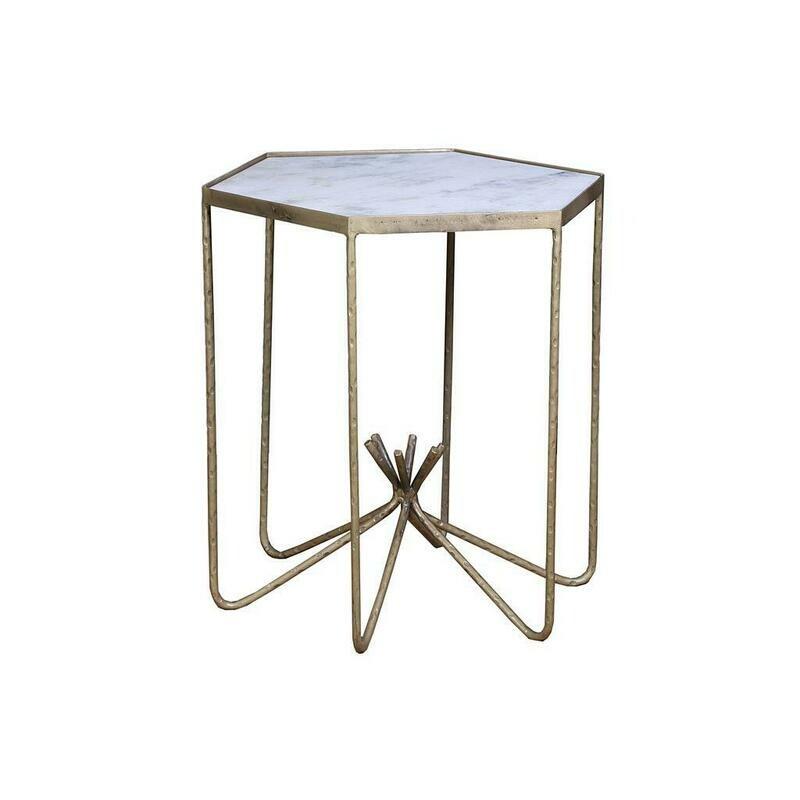 Sara Bay Marble Side Table NJD10103