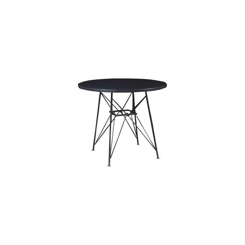 Palisades Round Iron Café Table NJD10232