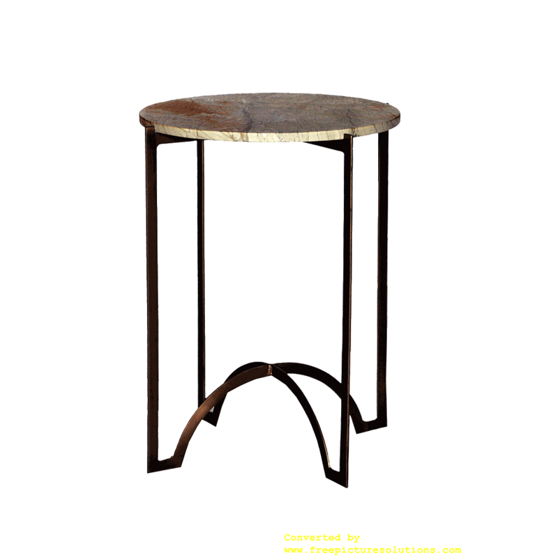 Shell Beach Marble Side Table
