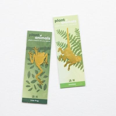 Brass Plant Animals
