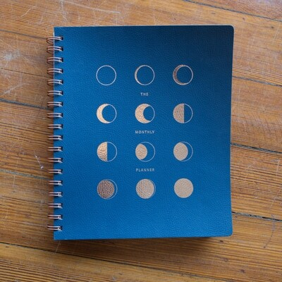 Moon Phase Monthly Planner