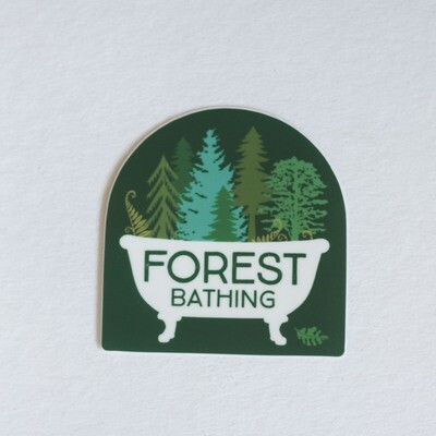 Forest Bathing Sticker