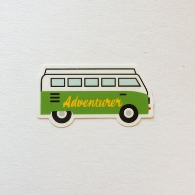 Adventurer Van Sticker