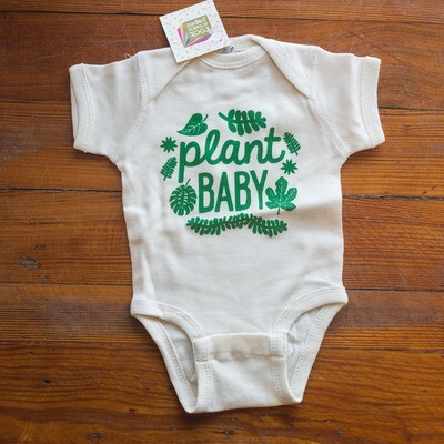 Plant Baby Onesie