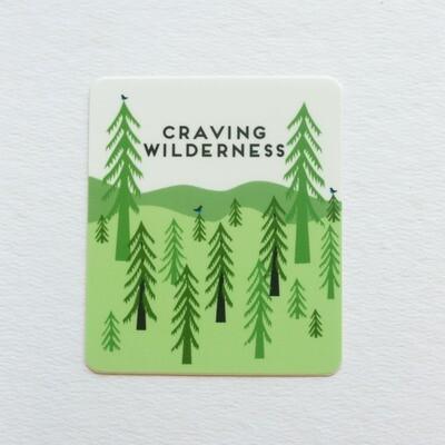 Craving Wilderness Sticker