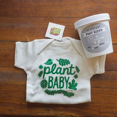 Plant Baby Onesie - Packaged
