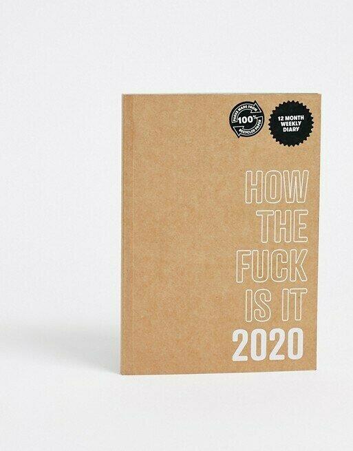 Еженедельник на 2020 год Typo