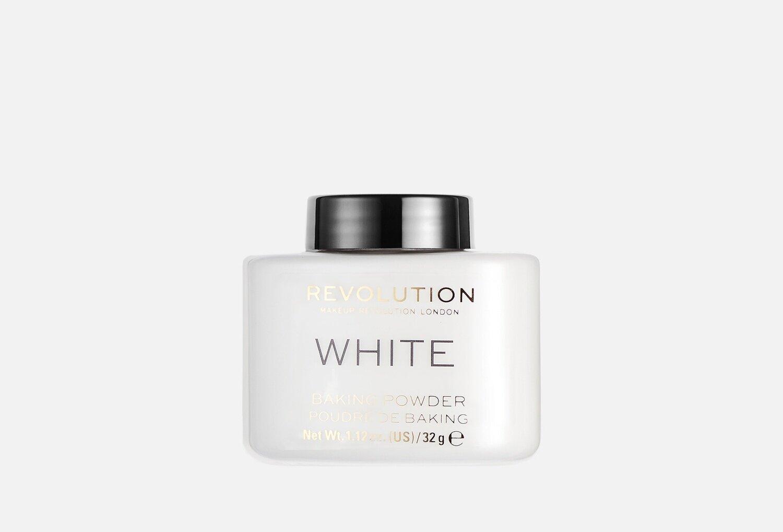 Пудра рассыпчатая Makeup Revolution Baking Powder white