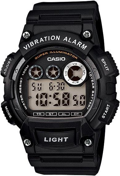 Японские наручные часы Casio Collection W-735H-1A с хронографом