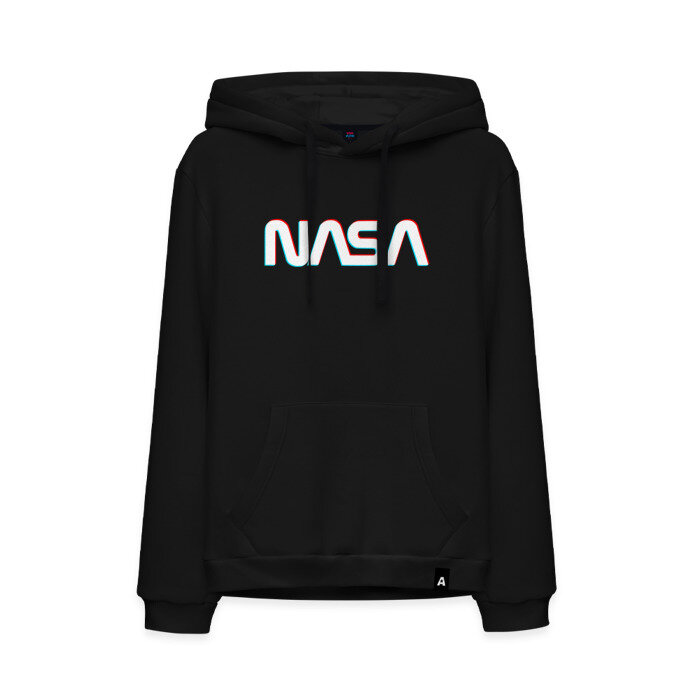 Мужская толстовка хлопок NASA GLITCH