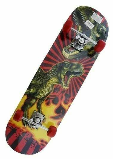 Скейтборд Shantou Gepai T-Rex красный