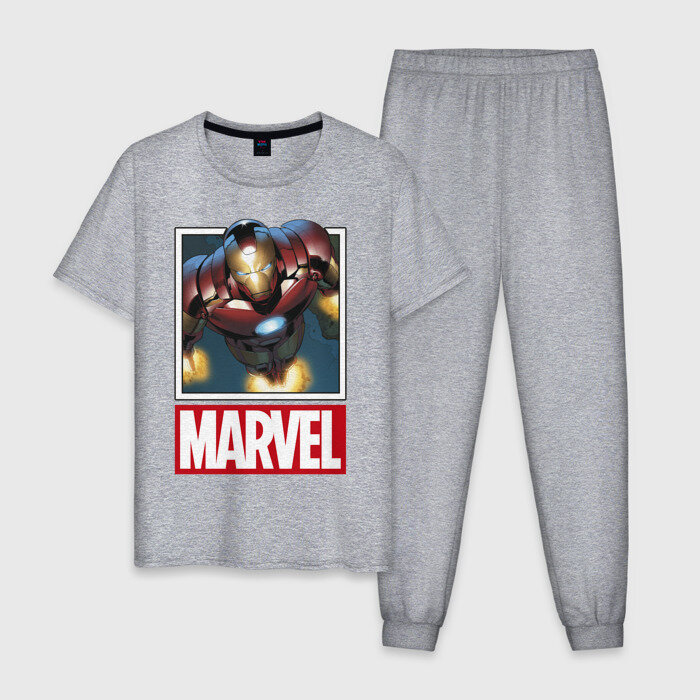 Мужская пижама хлопок «Iron Man»
