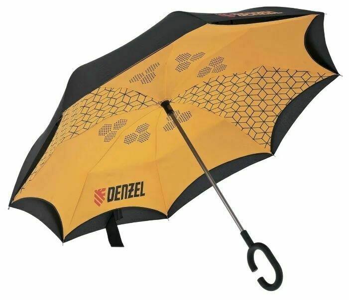 Зонт-трость механика Denzel