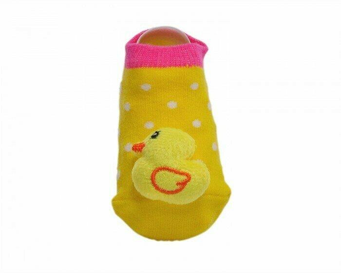 Lansa Носки детские с игрушкой Уточка