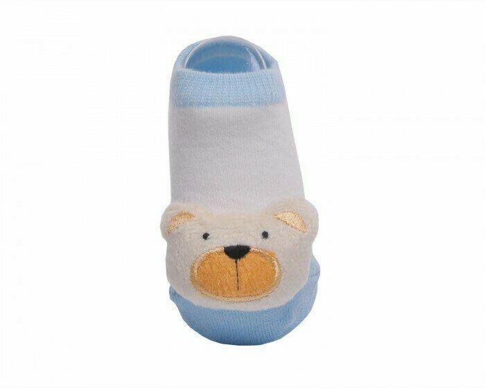 Lansa Носки детские с игрушкой Мишка