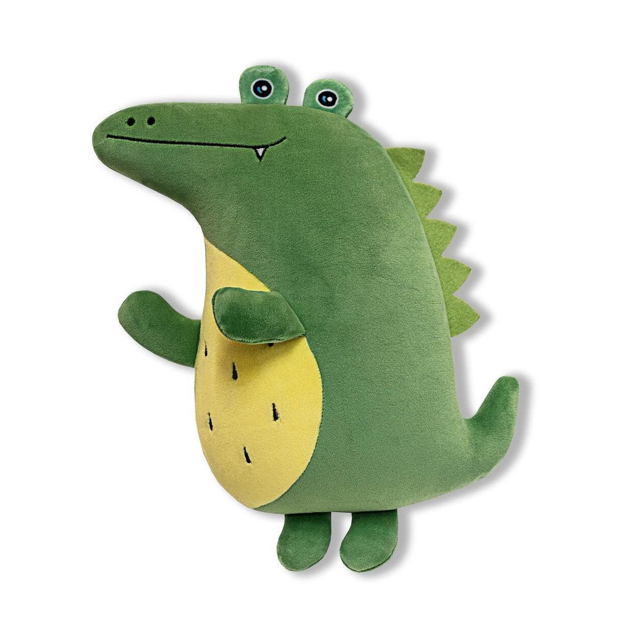 Игрушка-антистресс Штучки, к которым тянутся ручки Сплюшки Крокодил 35 см