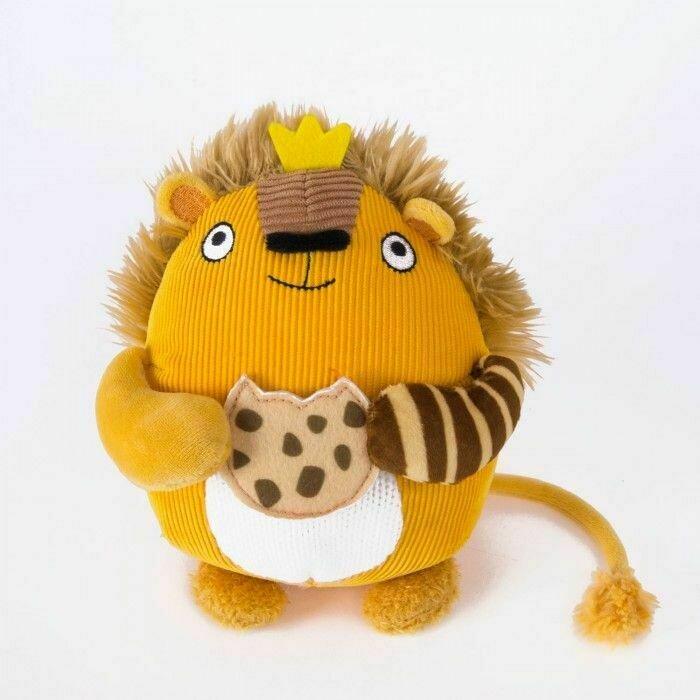 Мягкая игрушка Gulliver Лева с печенькой 15 см