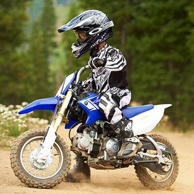 Вождение мотоцикла для детей