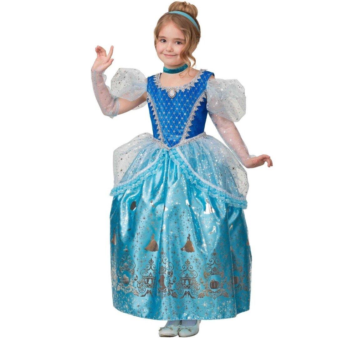 Батик Карнавальный костюм Принцесса Золушка Дисней