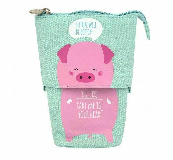 Kawaii Factory Пенал большой My friend - Piggy