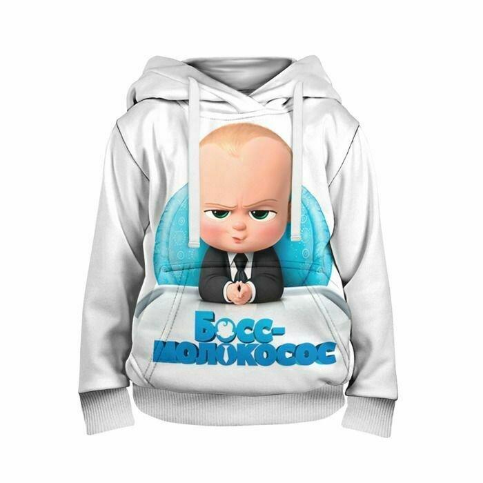 Детская толстовка 3D «Boss Baby»
