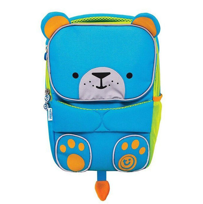 Рюкзак детский Trunki Toddlepak Берт, голубой