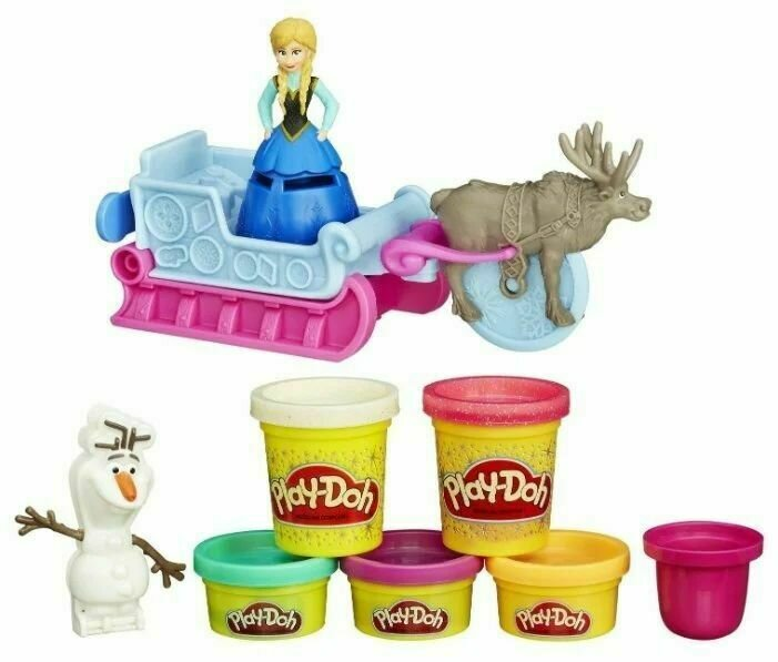 Масса для лепки Play-Doh Холодное сердце - Приключение Анны на санях