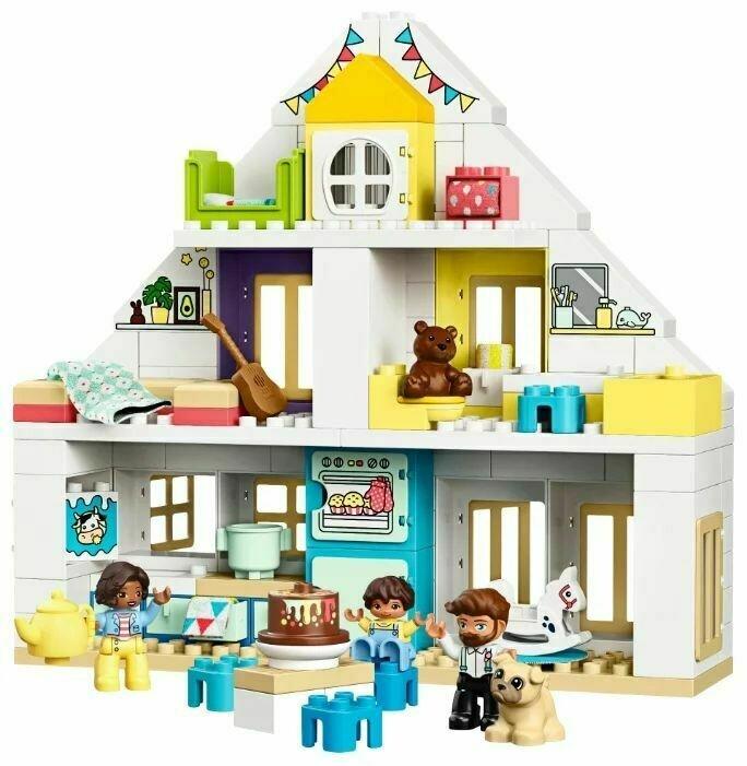 Конструктор LEGO DUPLO Модульный игрушечный дом